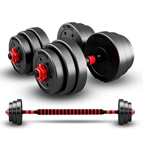 20/30/50KG dumbbells halter set met drijfstang, dumbbells halter set, verstelbare dumbbells set, verstelbare til…