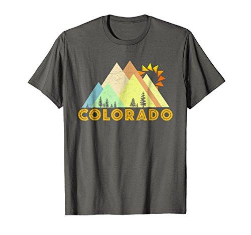 Retro Vintage Colorado T-Shirt-Distressed Shirt