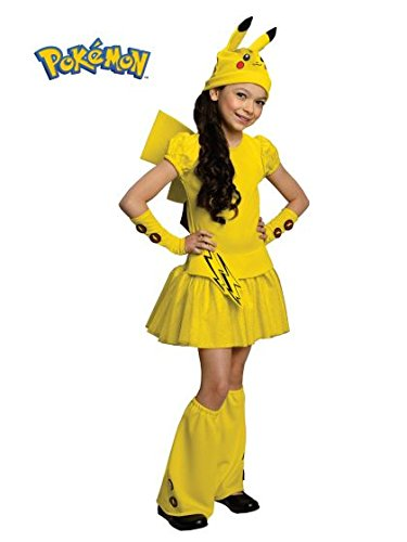Pokemon Girl Pikachu Costume