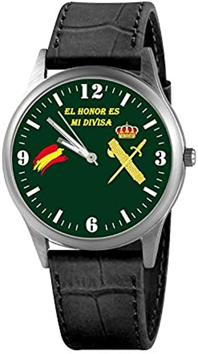 Reloj Guardia Civil Verde: Amazon.es: Relojes