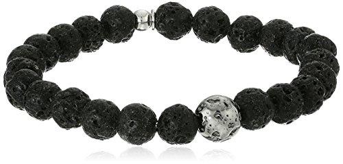 Tateossian-Asteroid-Ruthenium-Plted-Silver-Matt-Lapis-Beads-Blue-Bracelet