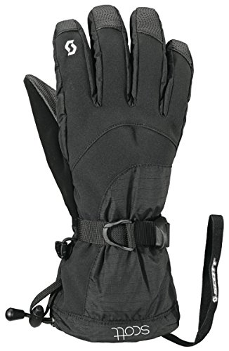 (Scott Ultimate Hybrid Glove - Women's Black Small)