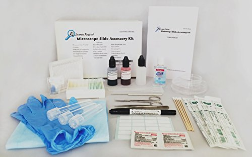 Microscope Slide Accessory Kit - Standard Set by Rs' Science