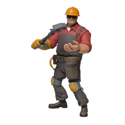 Series 3 NECA Team Fortress Red Engineer