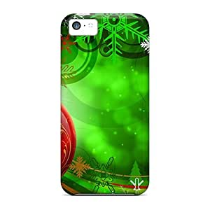 Forever Collectibles Colorful Christmas Decoration Hard Snap-on Iphone 5c Case