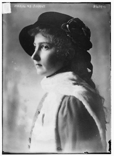 Amazon com: HistoricalFindings Photo: Princess Marie Auguste Anhalt