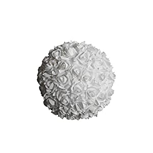 Craft and Party, Kissing flower soft FOAM ball for wedding centerpiece. 18