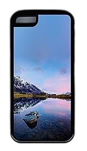 for iphone 6 plus 5.5 Case Beautiful Sky Nature TPU Custom for iphone 6 plus 5.5 Case Cover Black