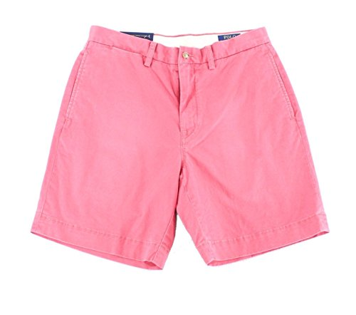 Polo Ralph Lauren Mens Colored Classic Fit Casual Shorts Red 40 by Polo Ralph Lauren
