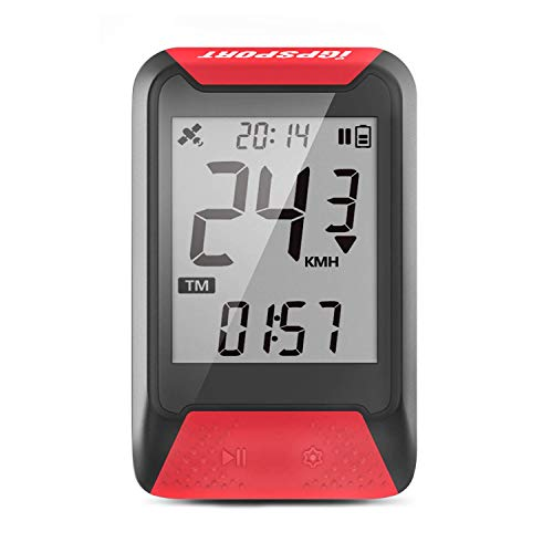 IGPSPORT GPS Bike Computer Wireless GPS Cycling Computer Bicycle Speedometer IPX7 Waterproof Cycle Computer from IGPSPORT