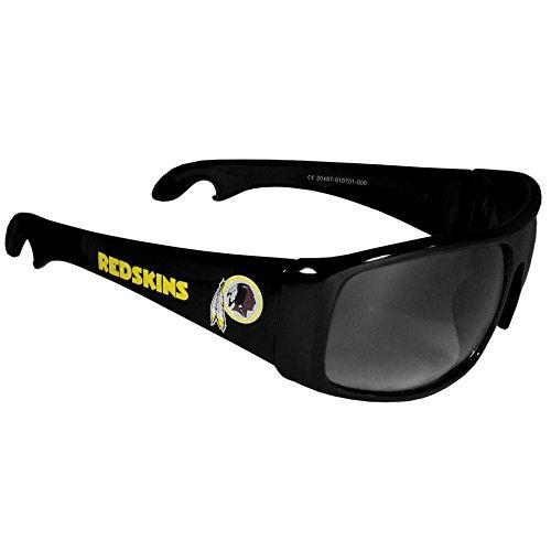 (NFL Washington Redskins Wrap Bottle Opener Sunglasses)