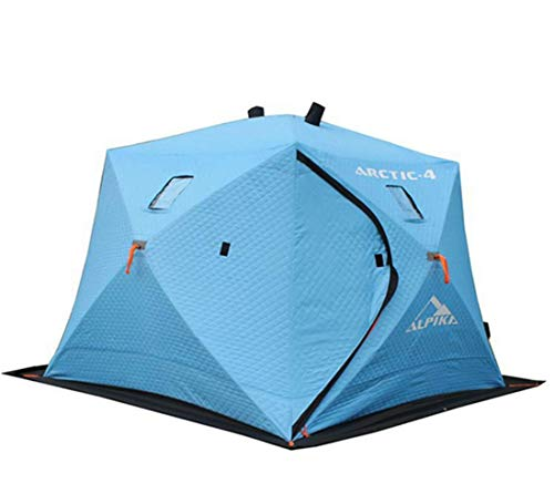 COCO Ice Shelter Fishing Tent, Portable Pop-up 2 Person Thermal Refuge House Shanty
