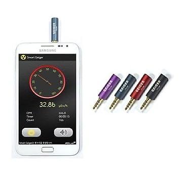 Contador Geiger Inteligente. Detector de Radiación Nuclear para iPhone y Android.: Amazon.es: Electrónica