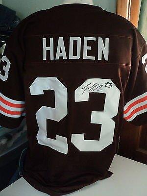 designer fashion 85f93 f9a2a Joe Haden signed Browns jersey, COA, #23 at Amazon's Sports ...