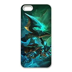 League of Legends(LOL) Hecarim iPhone 5 5s Cell Phone Case White VBS_3662360