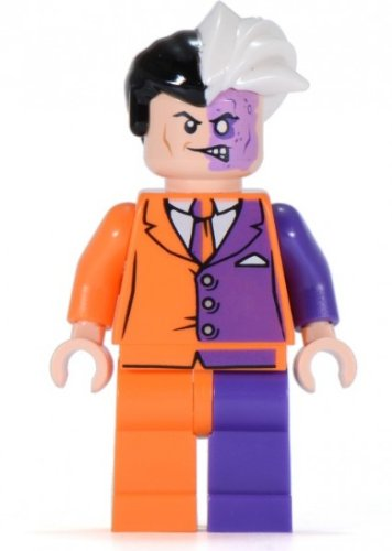 LEGO Super Heroes: Two Face Minifigure ()