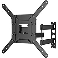 1home TV Wall Mount Bracket for 22-50 Inch LED LCD Plasma Screen TVs up to VESA 400x400mm with Full Motion Swivel Articulating Extension Arm