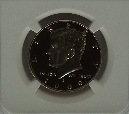 2000 S CLAD 50C Kennedy Ultra Cameo Half Dollar PF-70 NGC