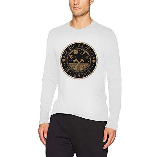 The Avett Brothers Halloween (Komlyt The Avett Brothers Long-Sleeved T-Shirt with Round Collar White)