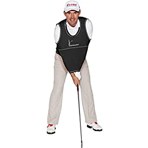 Golf Swing Shirt [Black, (Size 6) 190-230lbs]