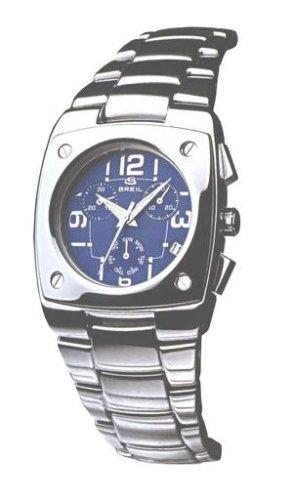 Breil Ladies Wide Blue Chronograph Dial Bracelet Watch 2519750315