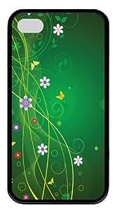 Fantastic Glade TPU Black Case for iphone 4S/4