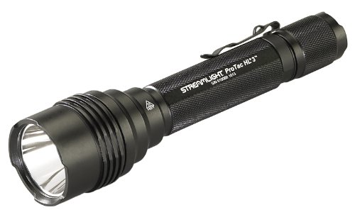 Streamlight 88047 ProTac HL 3 1,100 Lumen Professional Tactical Flashlight with High/Low/Strobe w/ 3x CR123A Batteries - 1100 Lumens