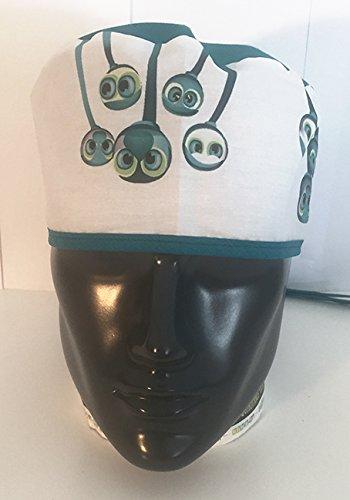 Gorro quiró fano. Surgical cap. Ojos colgantes. Pelo corto cococover 1105002017