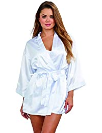 9f1ccec6eda Women s Plus-Size Shalimar Charmeuse Chemise with Robe and Padded Hanger