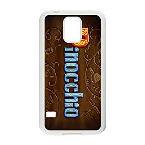 Samsung Galaxy S5 Cell Phone Case White Disney Pinocchio Character Cleo jbdi