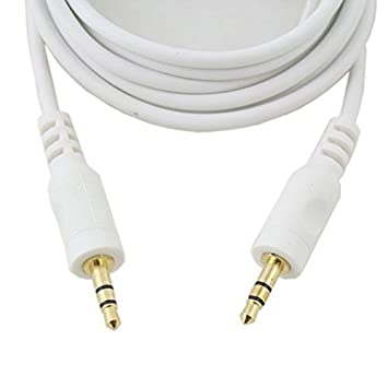 3.5mm Stereo Jack to Jack Plug AUX-IN Input Car Audio Cable for iphone