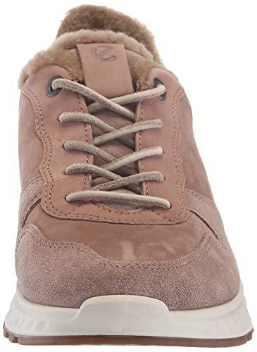 1 51265 Zapatillas Taupe Rosa deep Ecco Para Mujer St 8gxpvEqw5