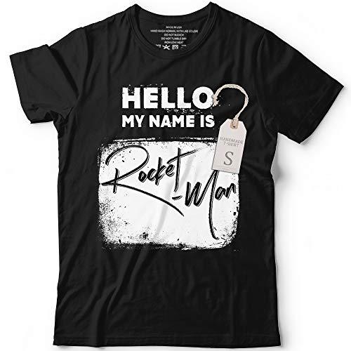 Hello My Name Is Rocket-Man Funny Halloween Kim Costume Shirt Men Women Customized Handmade Hoodie/Sweater/Long Sleeve/Tank Top/Premium T-shirt