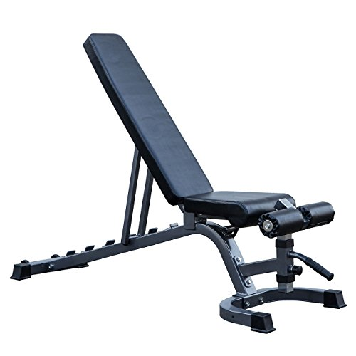 Adjustable 7-Position Weight Bench Incline Decline Home Gym Exercise Fitness by BUY JOY
