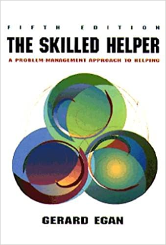 Skilled helper a problem management approach to helping skilled helper a problem management approach to helping counseling gerard egan 9780534212940 amazon books fandeluxe Choice Image