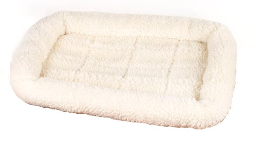 K-9 Keeper Sleeper Crate Pad, 23-1/2 by 17-1/2, Natural, My Pet Supplies