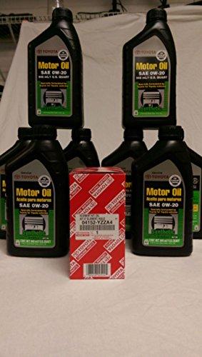 toyota 0w20 oil - 5