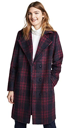 cupcakes and cashmere Women's Aldean Coat, Red Velvet, Small