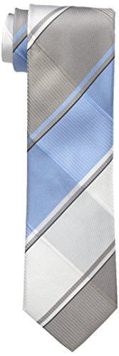 Petrol Plaid (Kenneth Cole Reaction Men's Petrol Plaid Tie, Taupe, One Size)