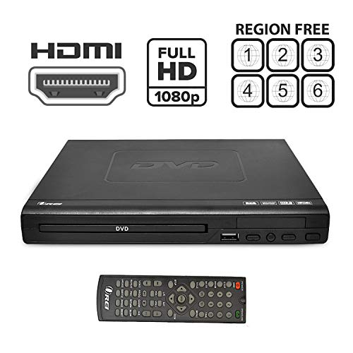 Lowest Prices! Region Free HDMI DVD Player by OREI - Multi Zone 1, 2, 3, 4, 5, 6 Supports 1080P - Co...