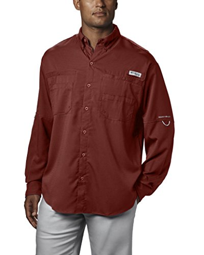 Columbia Men's PFG Tamiami II Long Sleeve Shirt , Rusty, XX-Large by Columbia (Image #1)