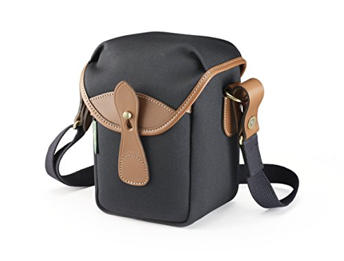 Billingham 72 Small Camera Bag (Black Canvas/Tan Leather)