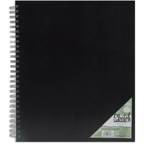 Pro Art 11-Inch by 14-Inch Spiral Bound Sketch Book, 80-Sheet by Parrot
