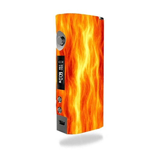 Kanger KBOX Mini Vape E-Cig Mod Box Vinyl DECAL STICKER Skin Wrap / Fire Flame El Fuego
