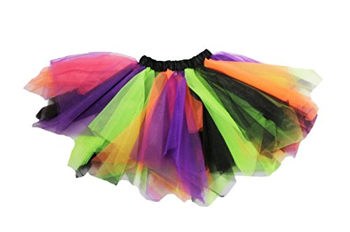 [Halloween Themed Multicolored Dance Tutu] (Baby Halloween Tutus)