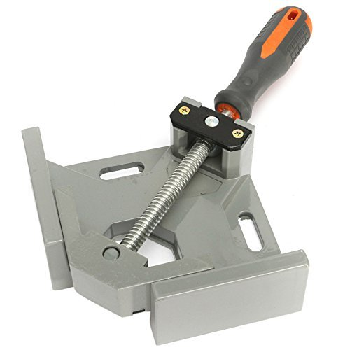 Hetai 90 Degree Corner Clamps Right Angle Clamp, Wood Clamps Adjustable Swing Jaw Corner Clamp Vise Tool Jig For Wood-Working, Engineering, Welding, Carpenter, Photo Framing