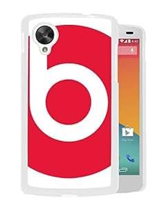 Beats by dr dre 14 White Google Nexus 5 Case Unique And Durable Custom Designed High Quality Google Nexus 5 Phone Case