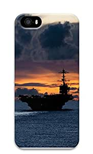 iPhone 5 5S Case Aircraft Carrier Us 3D Custom iPhone 5 5S Case Cover
