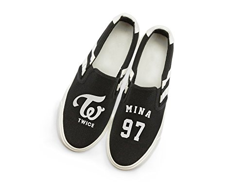 with Fanstown Memeber Support Twice Style Fan Mina Sneakers Shoes Fanshion lomo Card Canvas Hiphop Kpop wPYArw