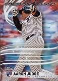 #9: 2017 Topps Chrome Freshman Flash #FF-11 Aaron Judge Baseball Rookie Card